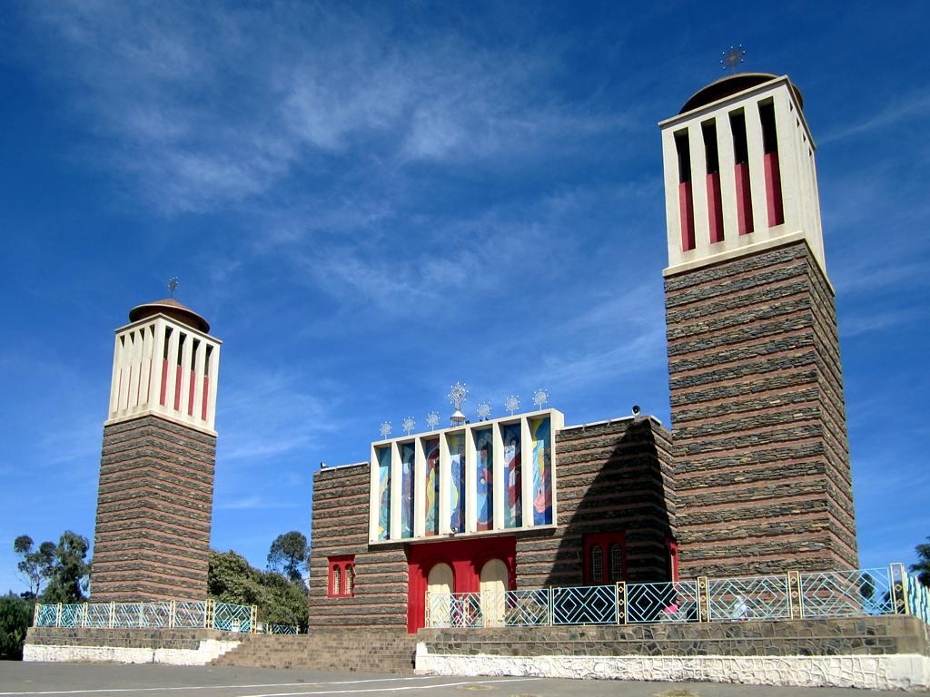 Marian Coptic Cathedral - Asmara, Eritrea