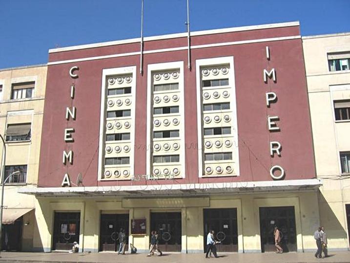 Cinema Impero - Asmara, Eritrea