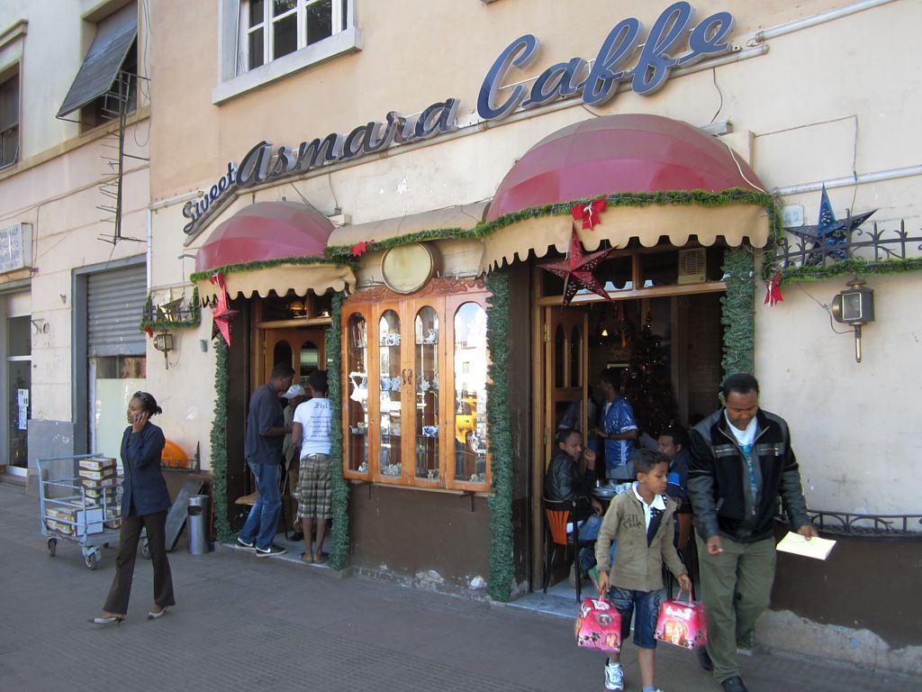 Sweet Asmara Caffe, Eritrea