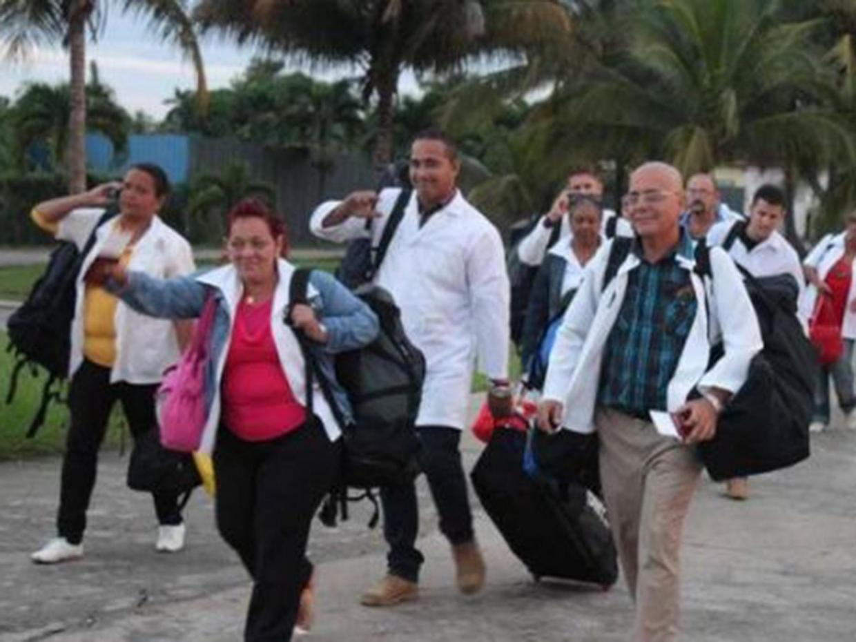 Granma/Cuban Doctors ready to go