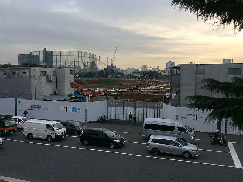 New Tokyo National Stadium, Shinjuku, Tokyo