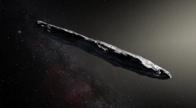 Oumuamua/Artist Depiction