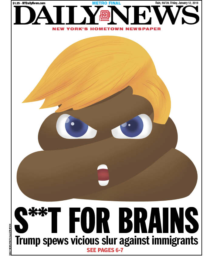 S**t For Brains/New York Daily News