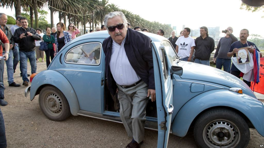 Jose Mujica in 2014