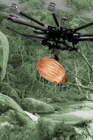 Seed-firing drones tested - EngineeringCareer