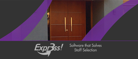 Expr3ss - Software that solves staff selection