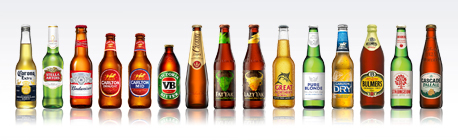Carlton and United Breweries - Multiple bottled brands