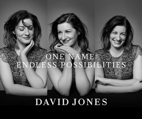 One Name: Endless Possibilities | David Jones