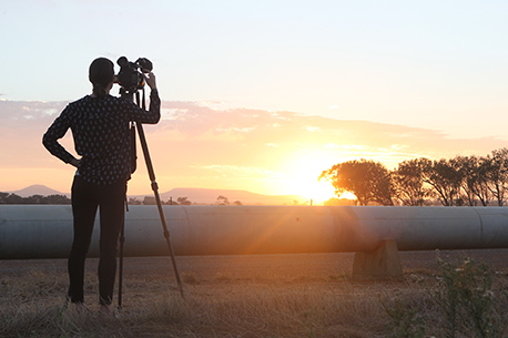 ABC - Cameraman on location