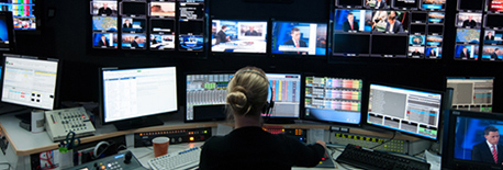 ABC - Producer in control room